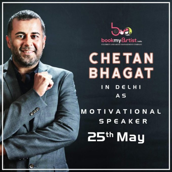 Chetan Bhagat - Motivational Speaker